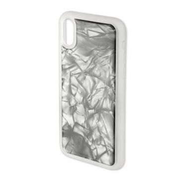 4smarts Clip-On Cover Trendline Fancy for Apple iPhone Xs / X grey