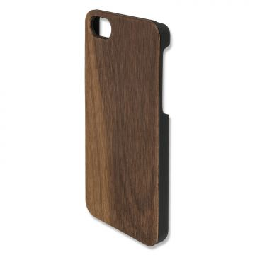 4smarts Clip-On Cover Trendline Wood for Apple iPhone 8 / iPhone 7 walnut