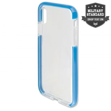 4smarts Soft Cover AIRY-SHIELD for Apple iPhone Xs / X blue