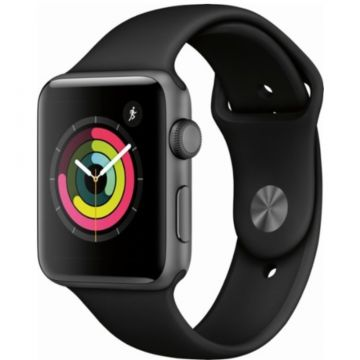 Apple Watch Series 3 GPS 42 mm Nero Refurbished Premium