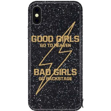 Cover Benjamins con Ricamo - Bad Girls per iPhone X, XS