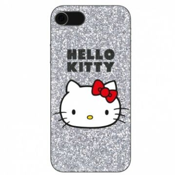 Cover Hello Kitty Glitter - Glitter Hello Kitty per iPhone 6, 6S, 7, 8