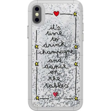 Cover Silvia Tosi Liquid - Liquid Champagne per iPhone Xr
