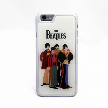 Cover rigida Beatles con stampa cartoons per iPhone 6 / 6S